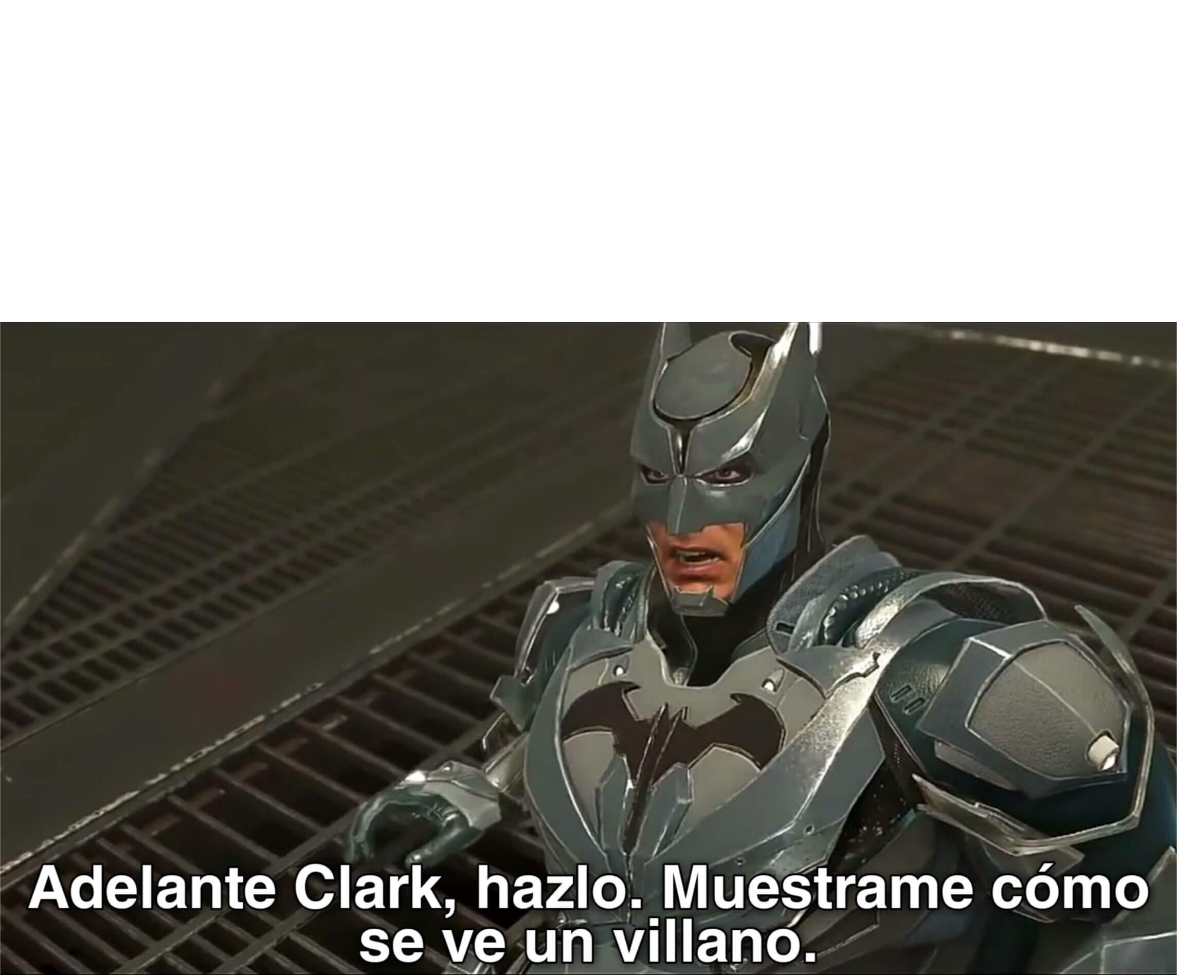 Ir a la pagina de la plantilla Adelante Clark, hazlo. Muestrame cómo se ve un villano..