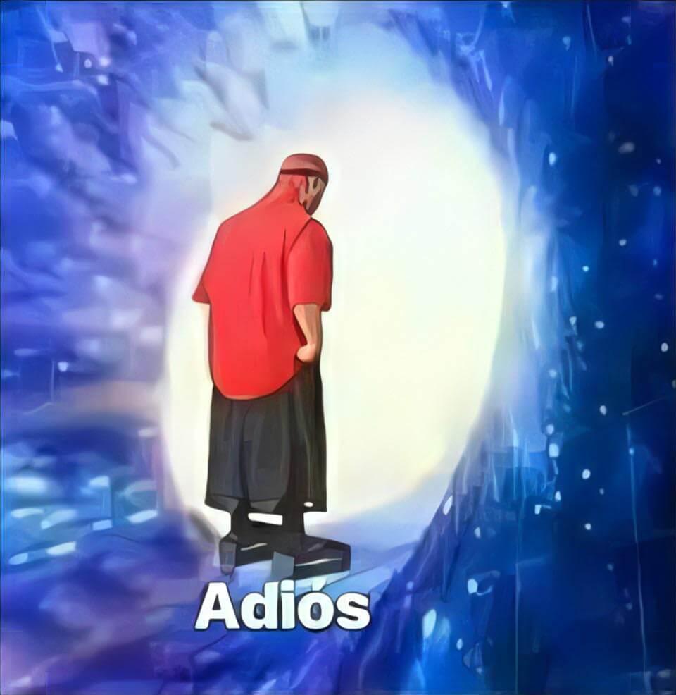 Ir a la pagina de la plantilla Adiós (Hombre hacia un Agujero de Gusano).