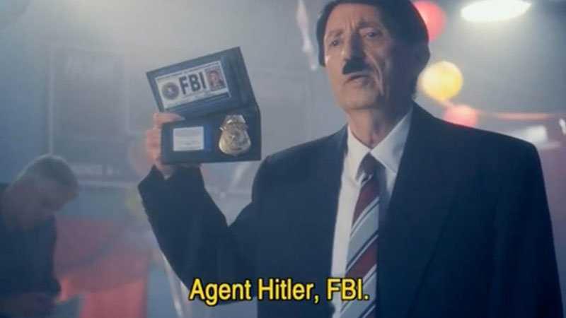Ir a la pagina de la plantilla Agent Hitler, FBI.