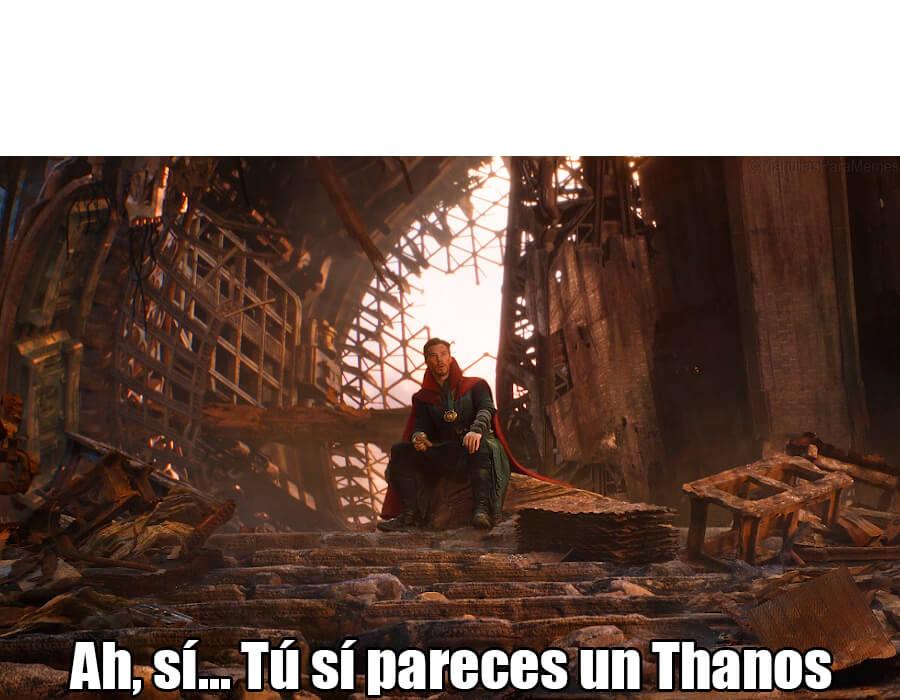 Ir a la pagina de la plantilla Ah, sí... Tú sí pareces un Thanos.