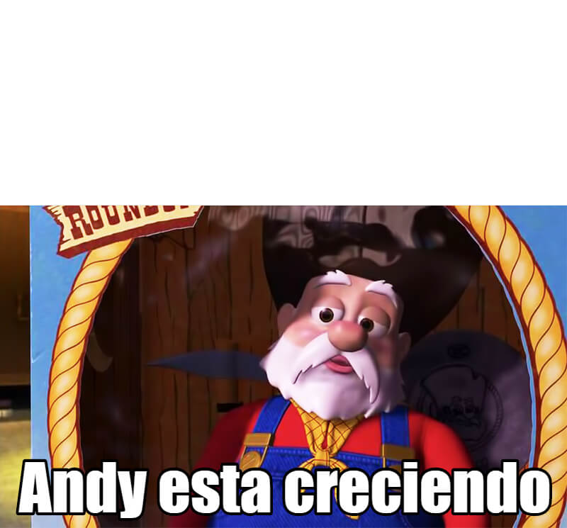 Ir a la pagina de la plantilla Andy está creciendo.