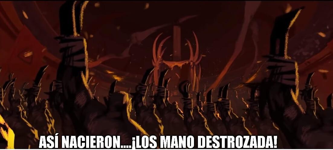 Ir a la pagina de la plantilla Así nacieron... ¡Los Mano Destrozada!.