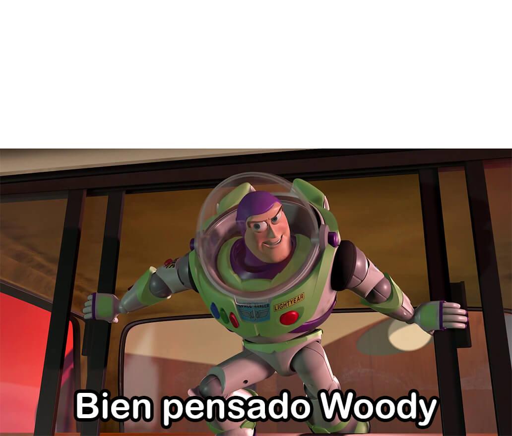 Ir a la pagina de la plantilla Bien pesando Woody.