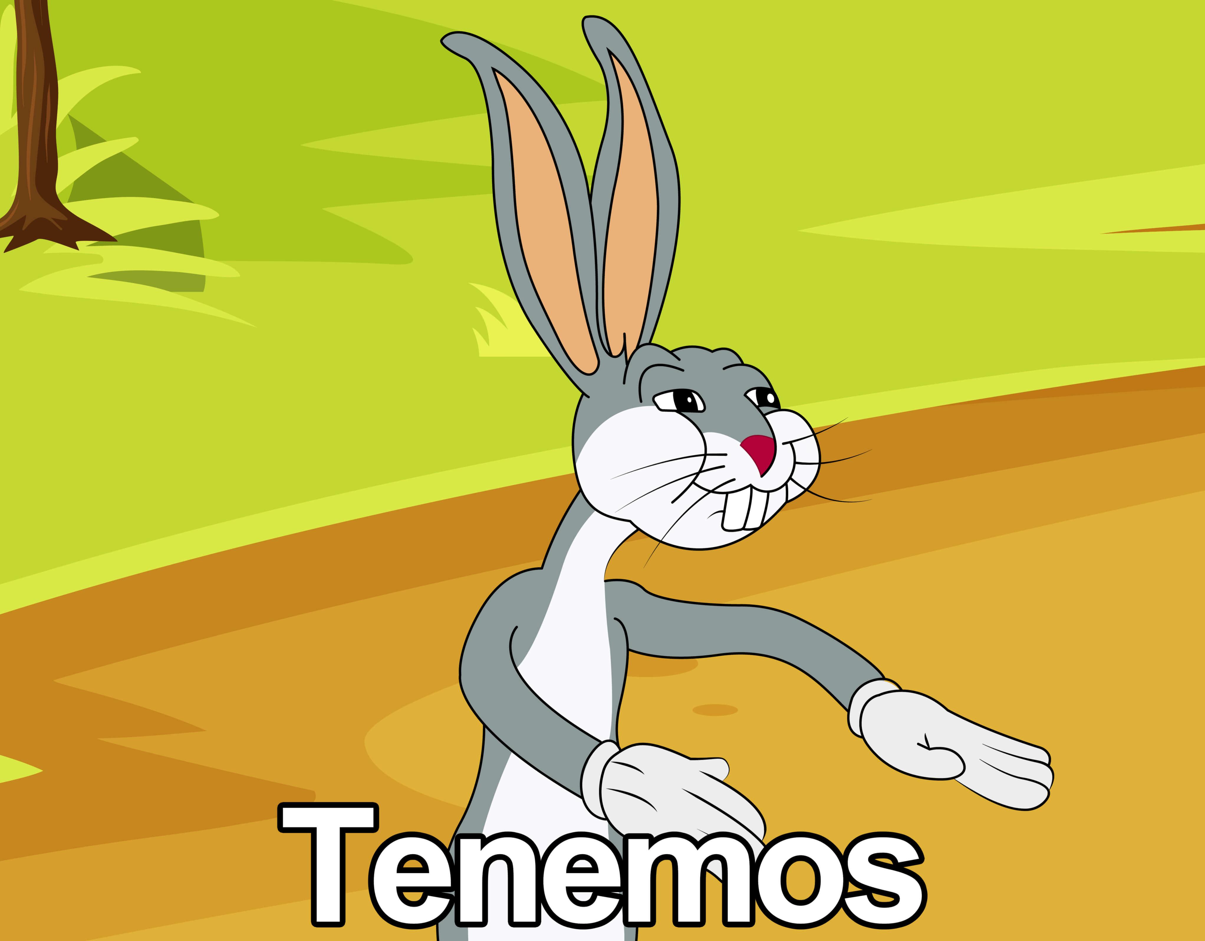 Plantilla de Bugs Bunny Tenemos