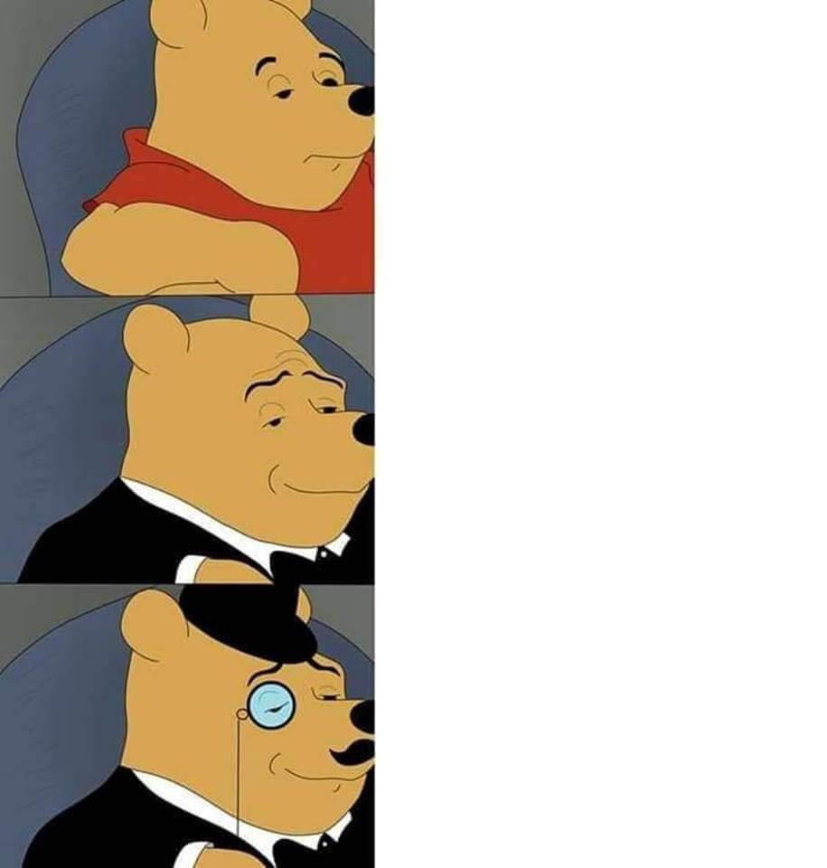 Comparacion Winnie Pooh Plantillas De Memes