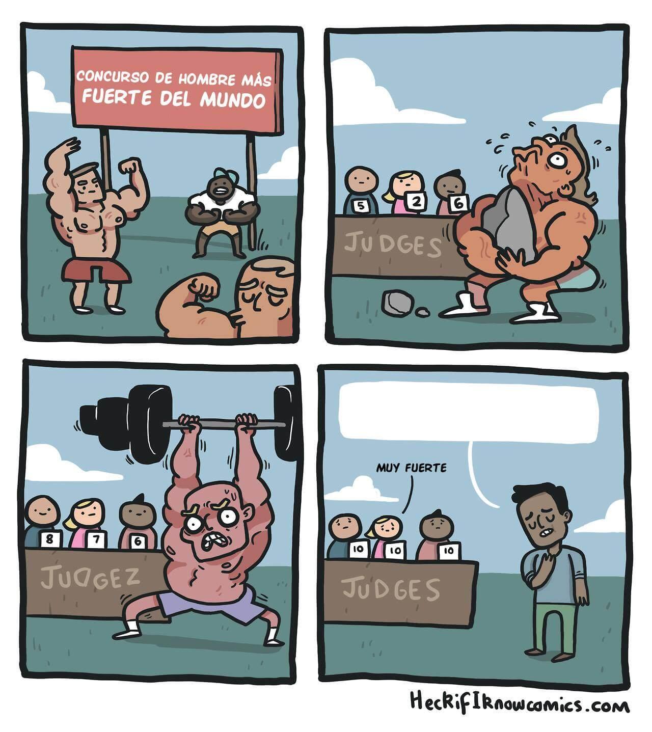 Plantilla de Concurso del hombre más fuerte del mundo
