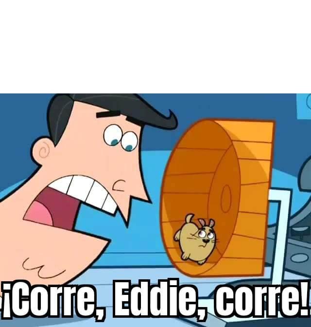 Ir a la pagina de la plantilla ¡Corre, Eddie, corre!.