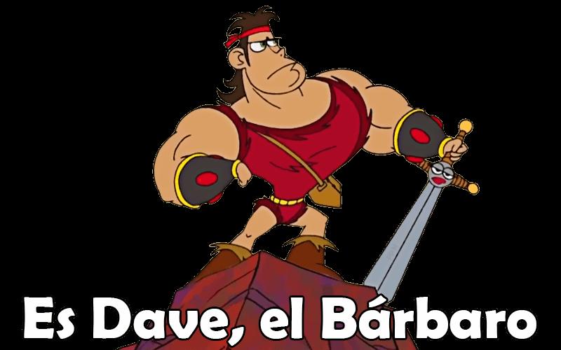 Plantilla de Dave El Barbaro