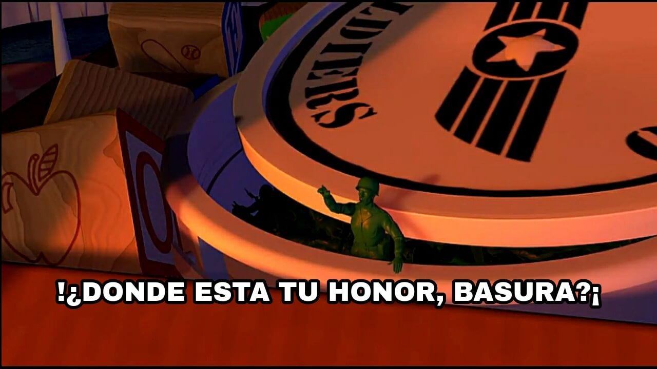Plantilla de ¡¿Donde esta tu honor, basura?!