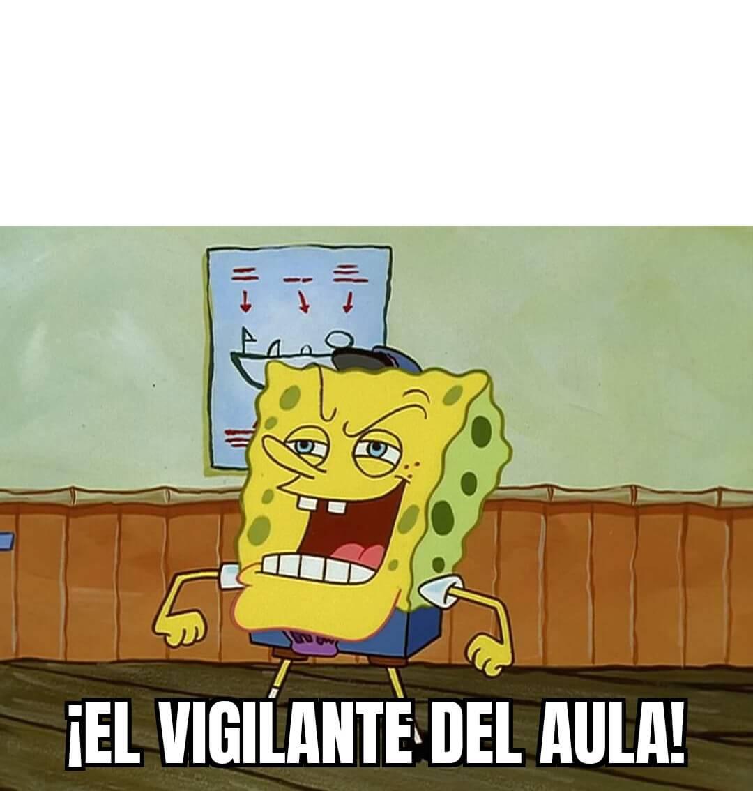 Plantilla de ¡EL VIGILANTE DEL AULA!