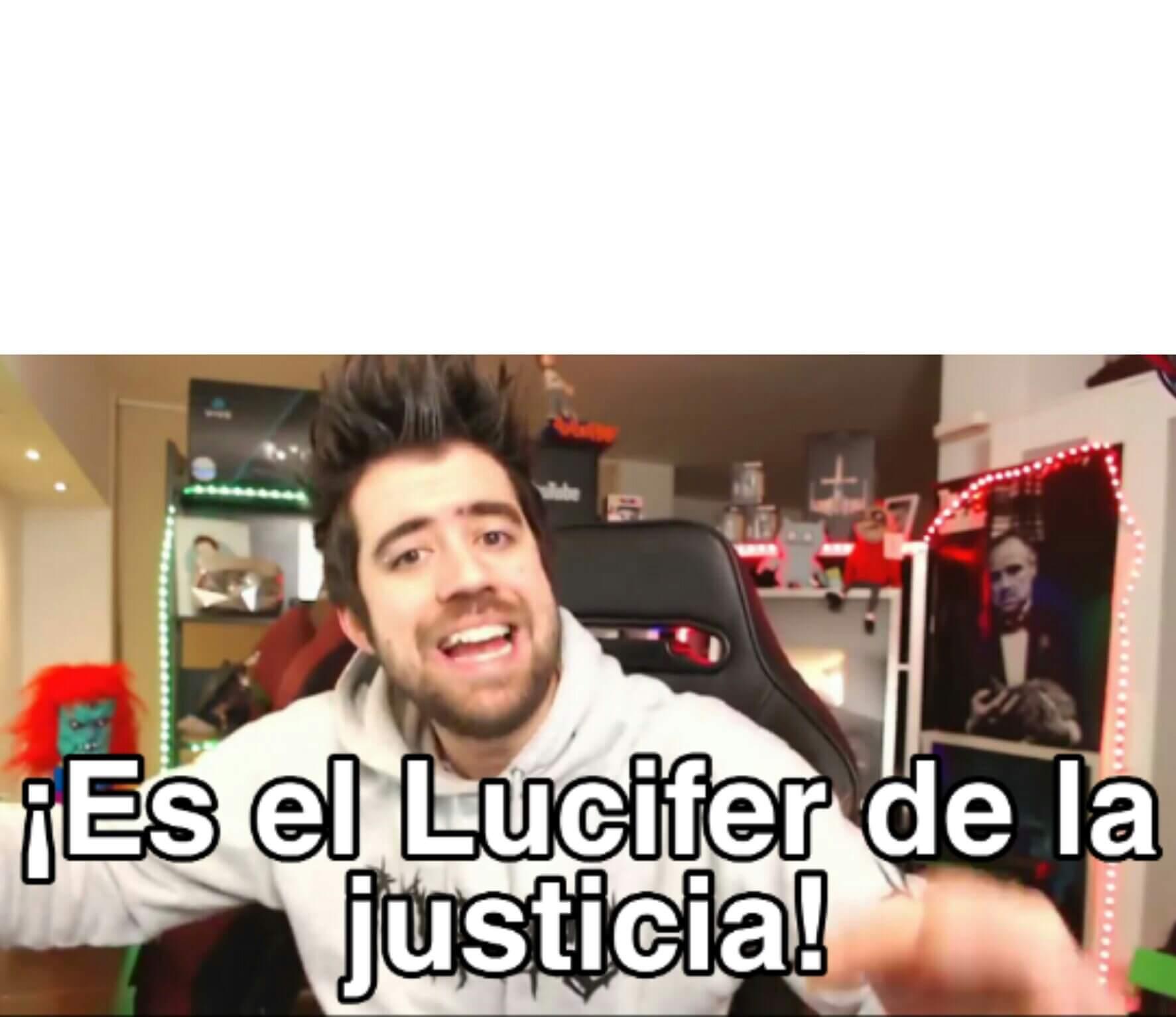 Ir a la pagina de la plantilla ¡Es el Lucifer de la justicia!.