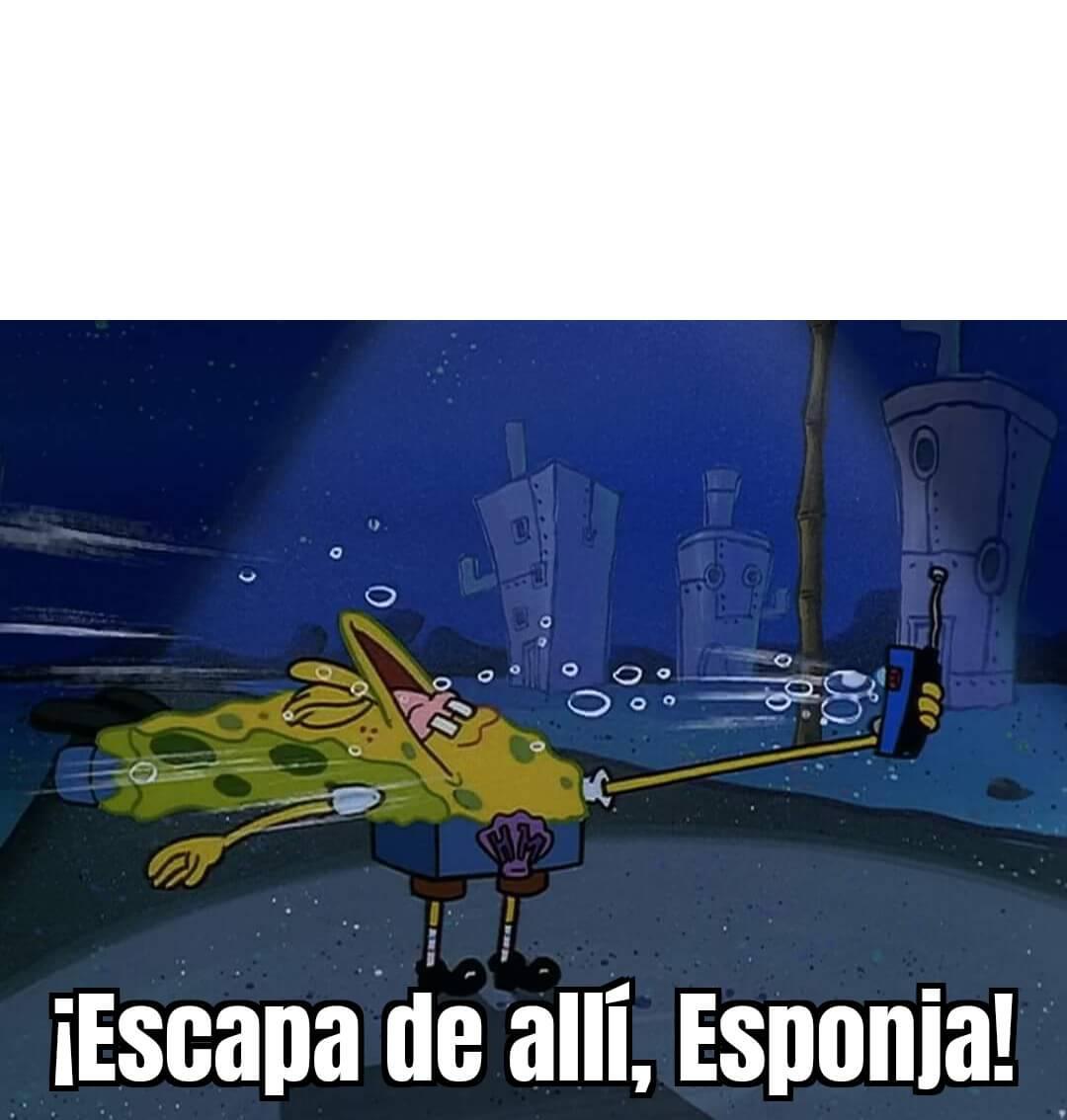 Ir a la pagina de la plantilla ¡Escapa de allí, Esponja!.