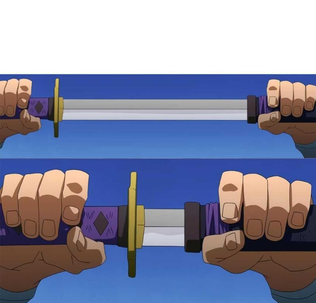 Plantilla de Espada corta | Espada larga