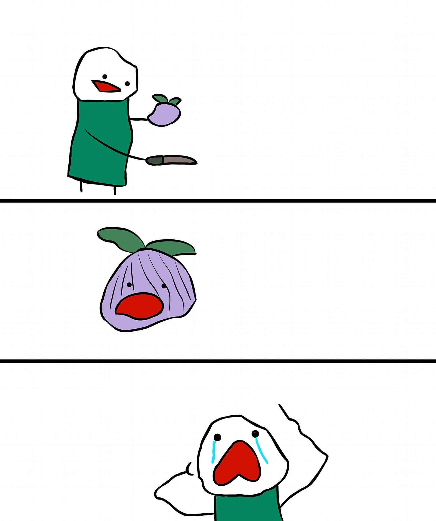 Plantilla de Esta cebolla no me hará llorar