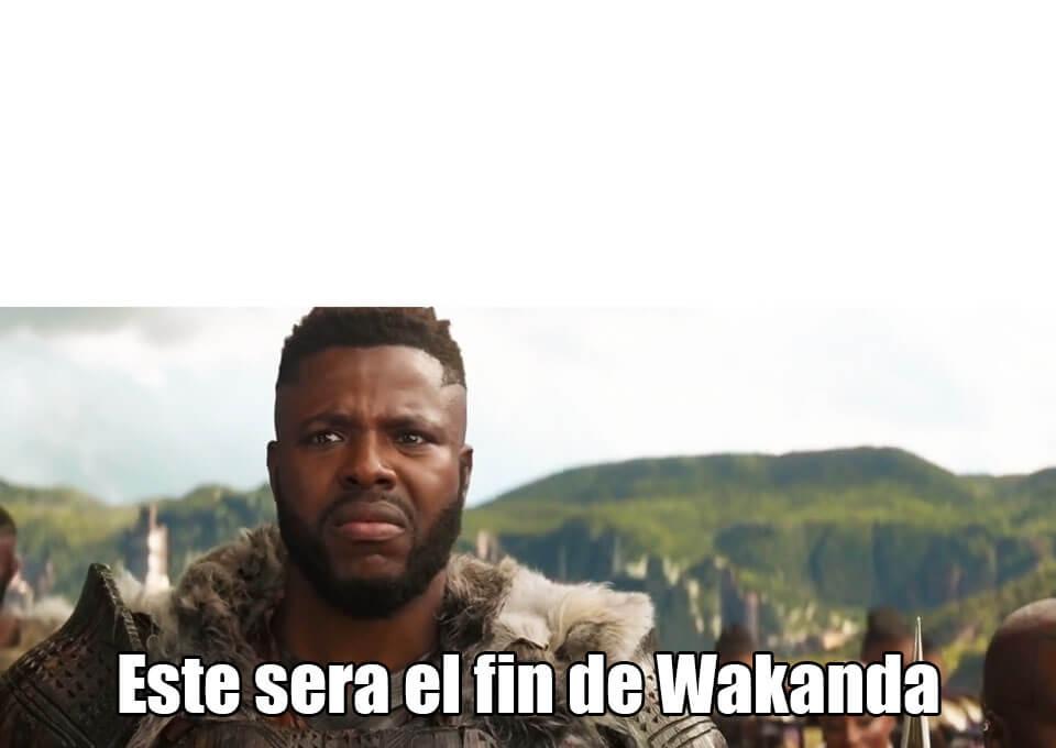 Ir a la pagina de la plantilla Este sera el fin de Wakanda.