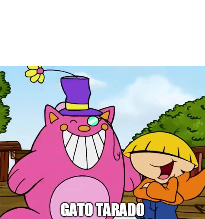 Ir a la pagina de la plantilla Gato Tarado.