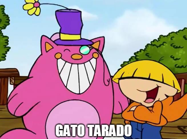 Plantilla de Gato Tarado