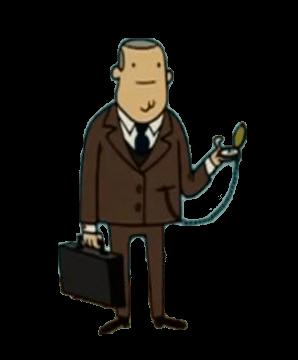 Plantilla de Hombre de negocios