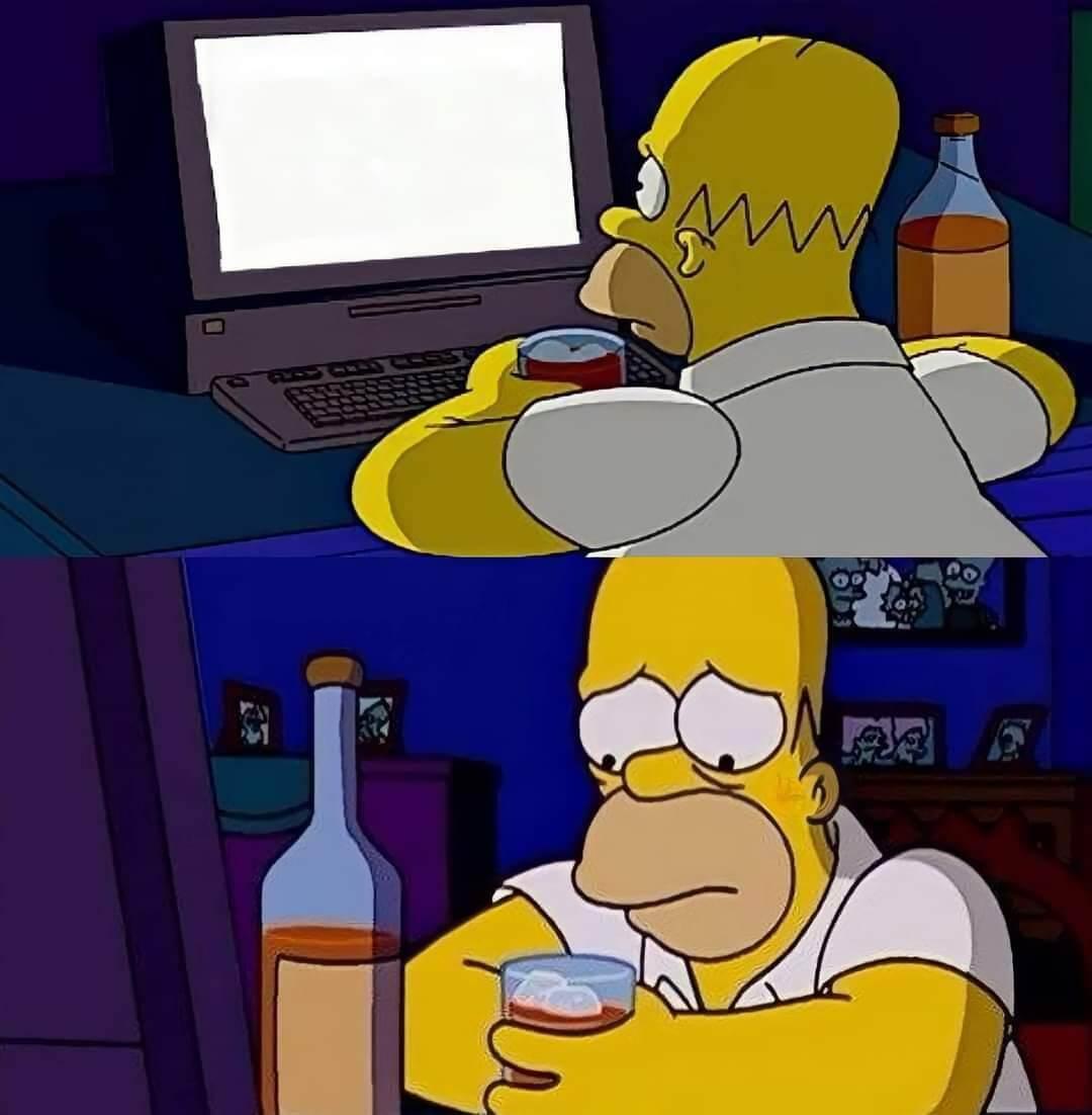 Ir a la pagina de la plantilla Homero Sad.