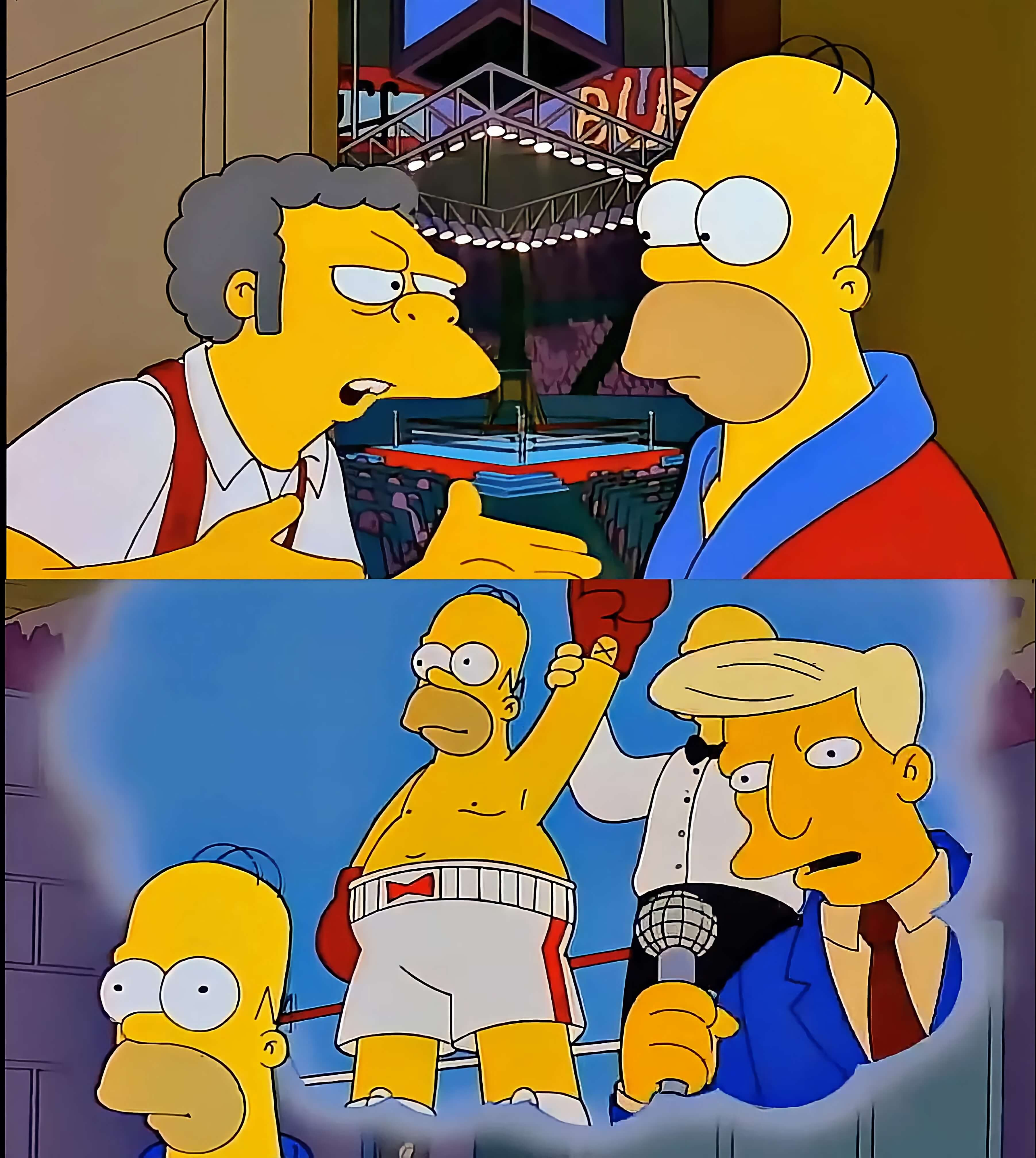 Ir a la pagina de la plantilla Homero Simpson Boxeador.