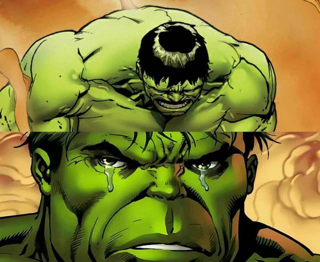 Ir a la pagina de la plantilla Hulk Triste.