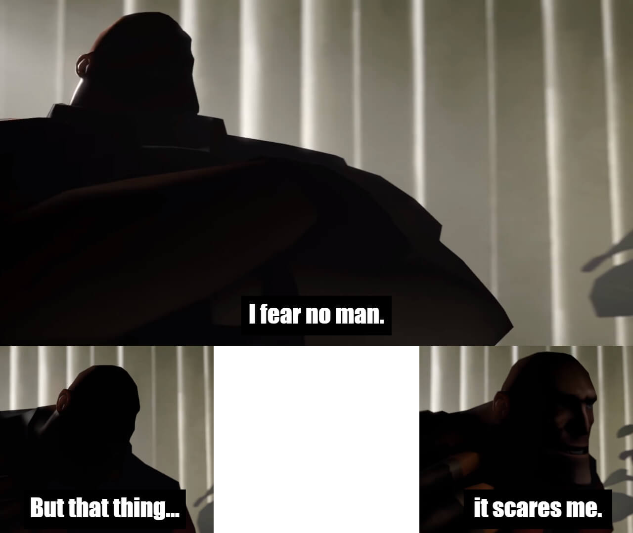 Ir a la pagina de la plantilla I fear no man | But that thing... | it scares me.
