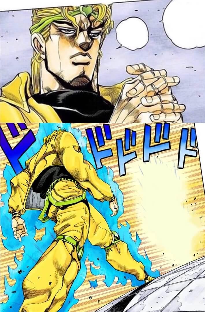 Plantilla de Jotaro vs Dio