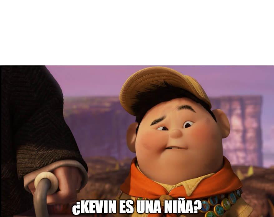 Ir a la pagina de la plantilla ¿Kevin es una niña?.