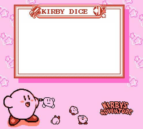 Ir a la pagina de la plantilla Kirby dice.
