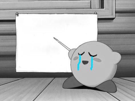 Plantilla de Kirby explicando
