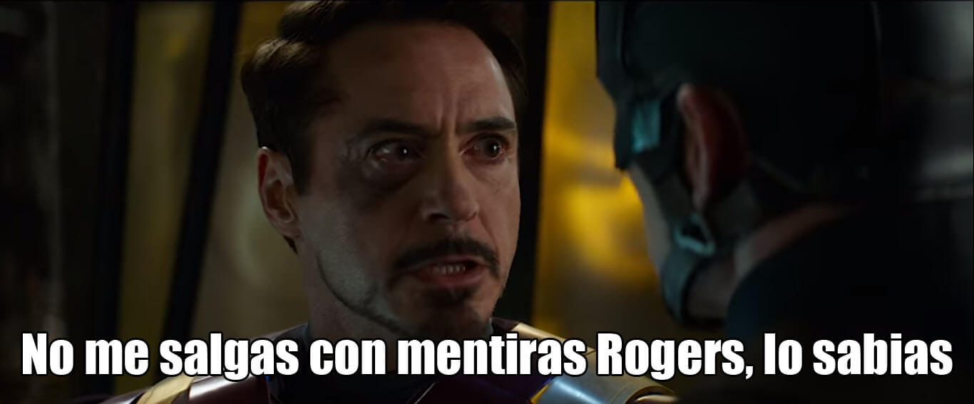 Plantilla de Lo sabias   No me salgas con mentiras Rogers, lo sabias