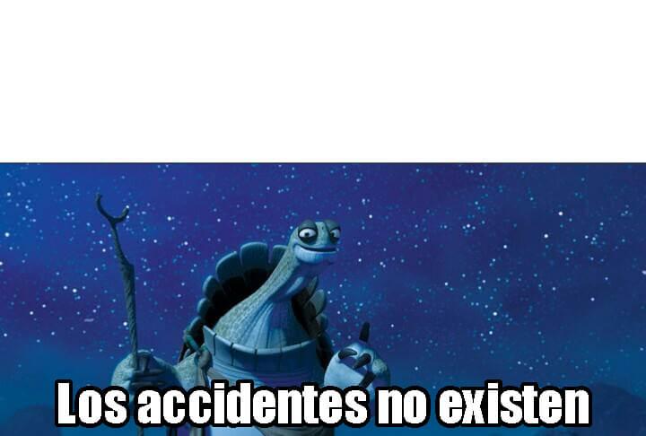 Ir a la pagina de la plantilla Los accidentes no existen.