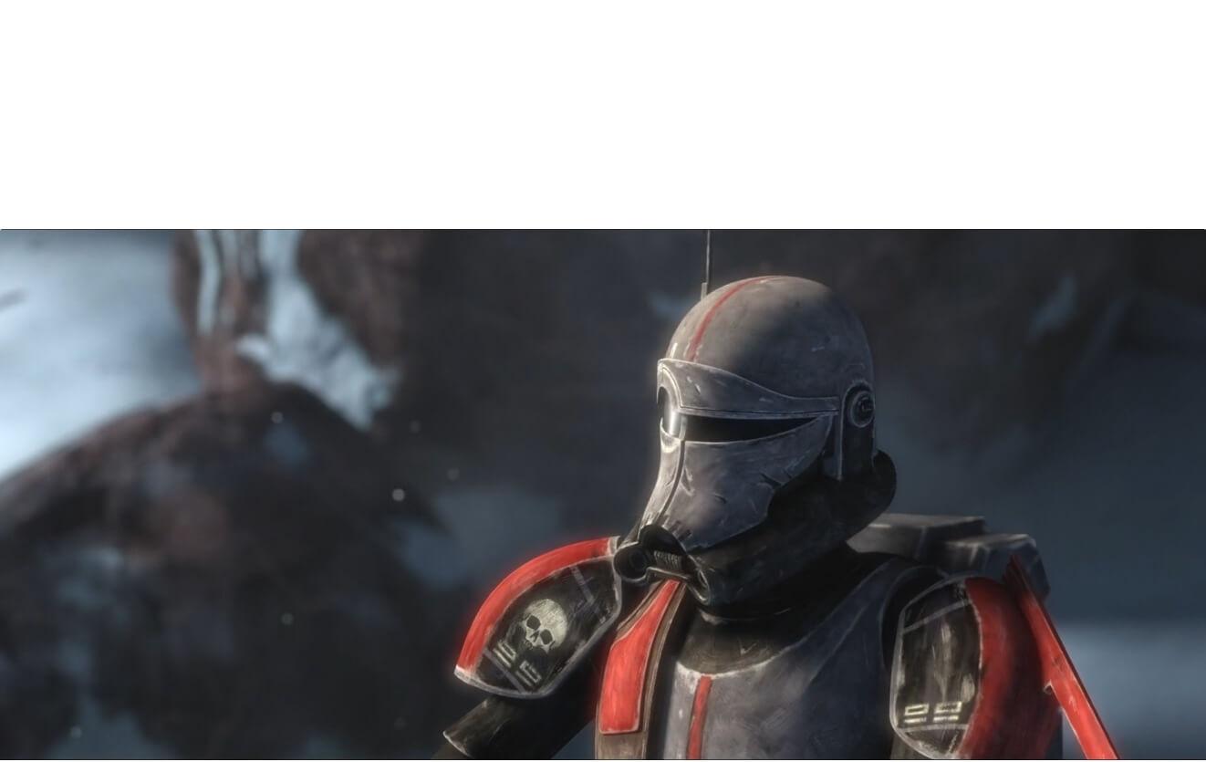 Plantilla de Los buenos soldados siguen ordenes