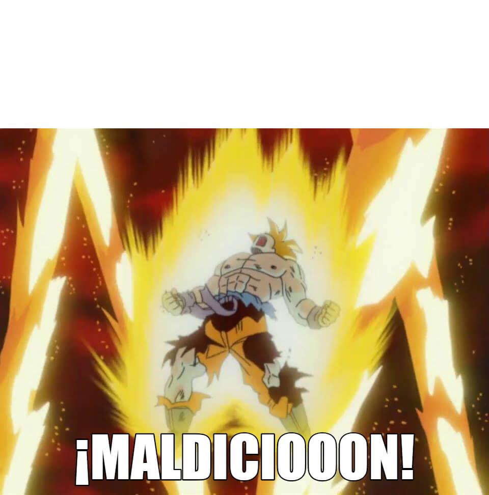 Plantilla de MALDICIÓN