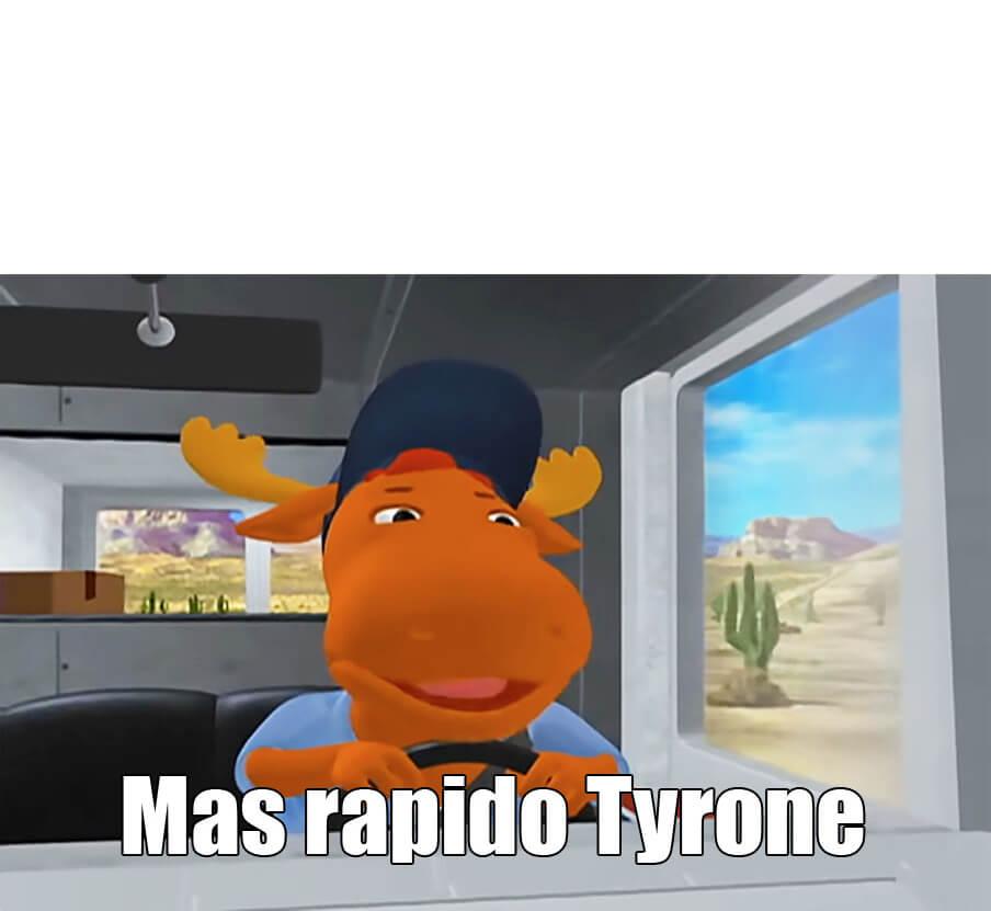 Ir a la pagina de la plantilla Mas rapido Tyrone.