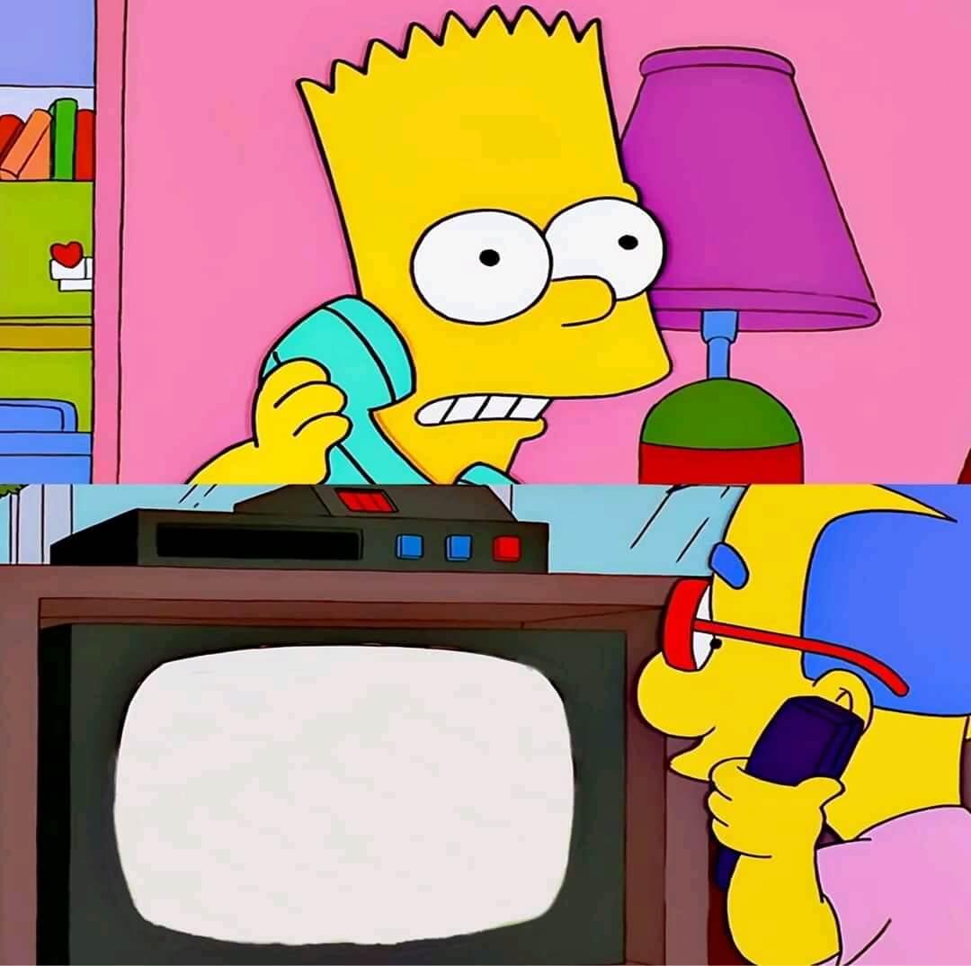 Plantilla de Milhouse, estas viendo... | Ah... si, es algo fantástico