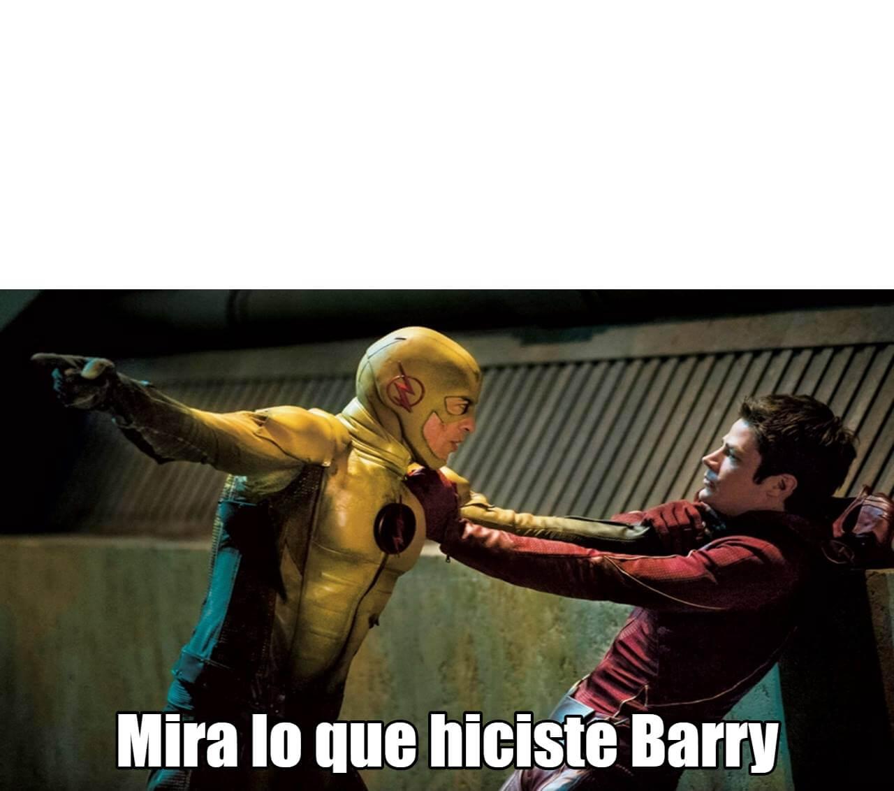 Ir a la pagina de la plantilla Mira lo que hiciste Barry.