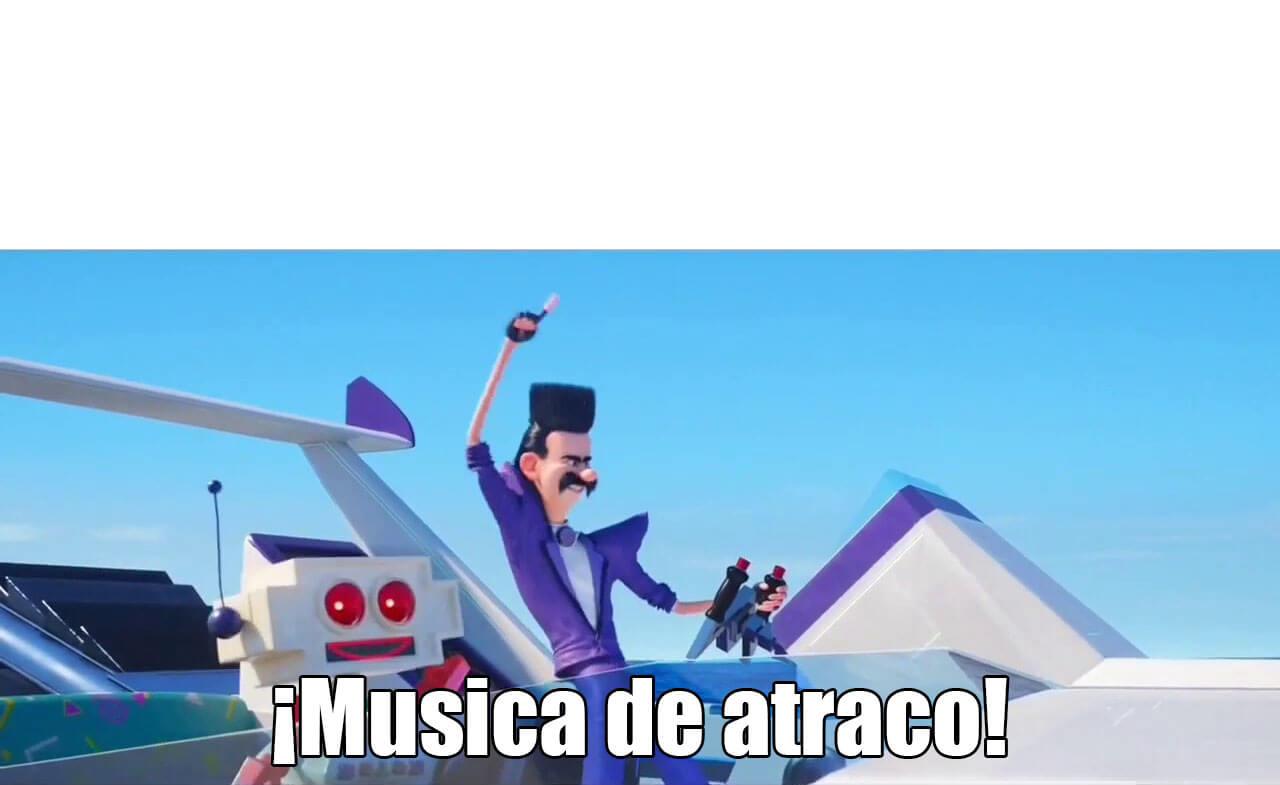 Ir a la pagina de la plantilla ¡Música de atraco!.