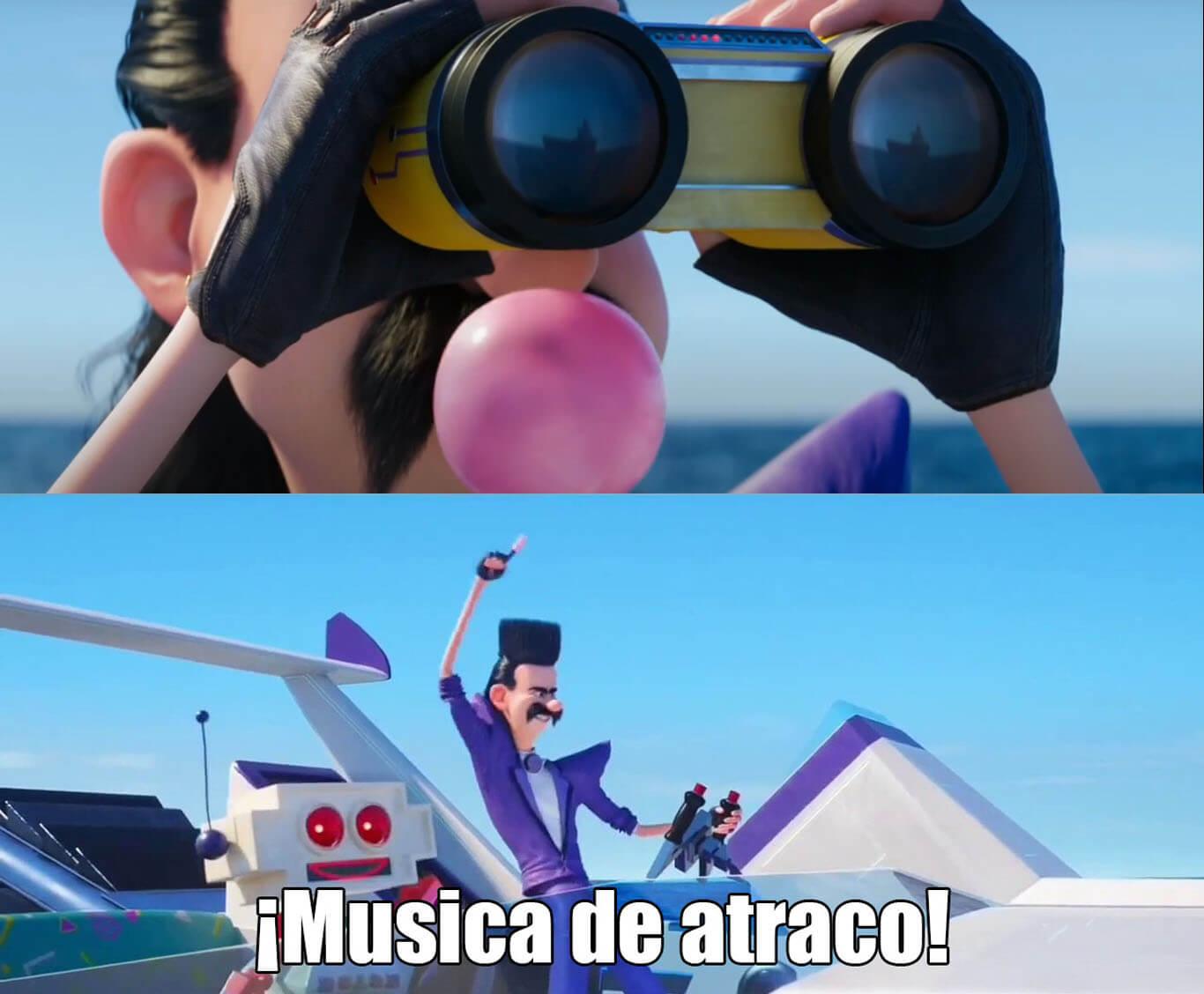 Plantilla de ¡Música de atraco!