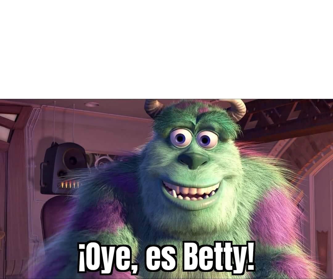 Ir a la pagina de la plantilla ¡Oye, es Betty!.