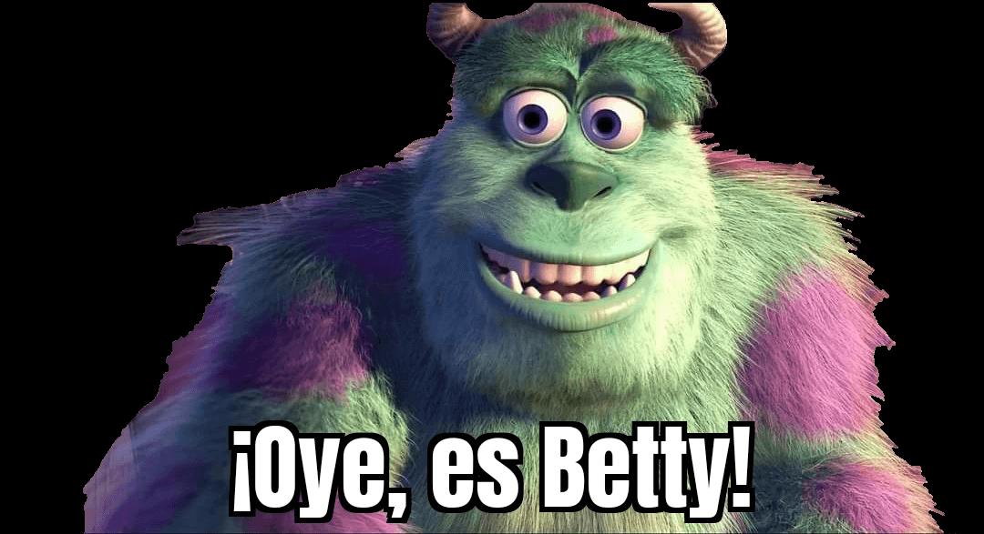 Plantilla de ¡Oye, es Betty!