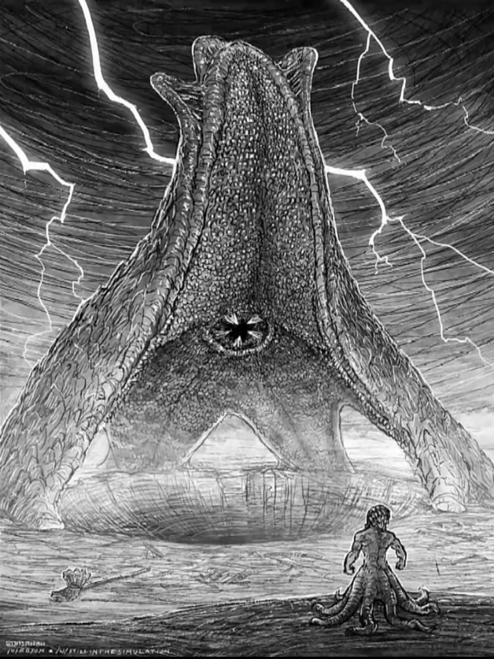 Ir a la pagina de la plantilla Patricio gigante vs Calamardo Kraken.