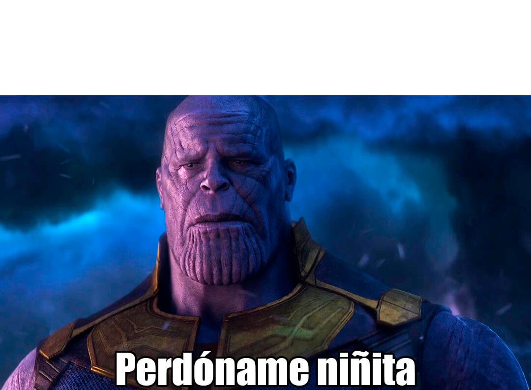 Perdoname Ninita Plantillas De Memes