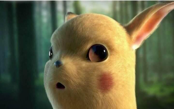 Plantilla de Pikachu confundido / sorprendido / sonriendo