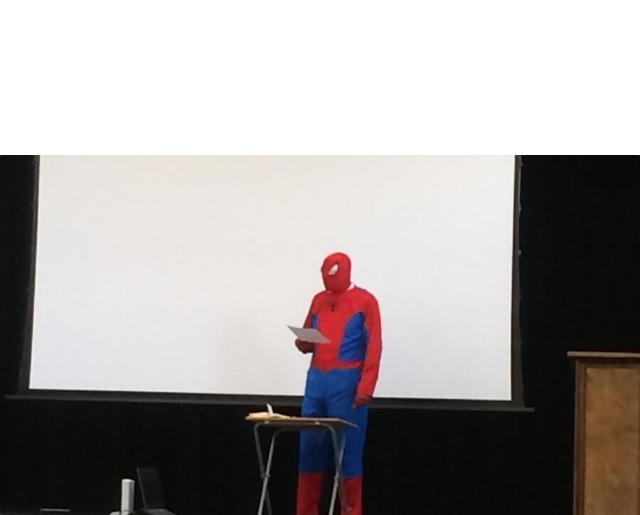 Ir a la pagina de la plantilla Presentación de Spider-Man.
