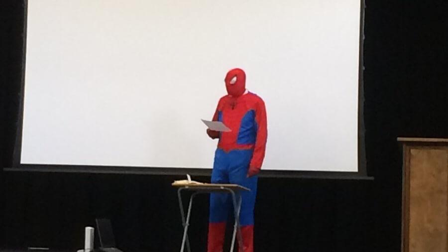 Plantilla de Presentación de Spider-Man