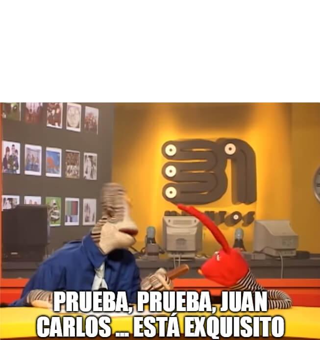 Plantilla de Prueba, Juan Carlos, mira ... Está exquisito, fíjate