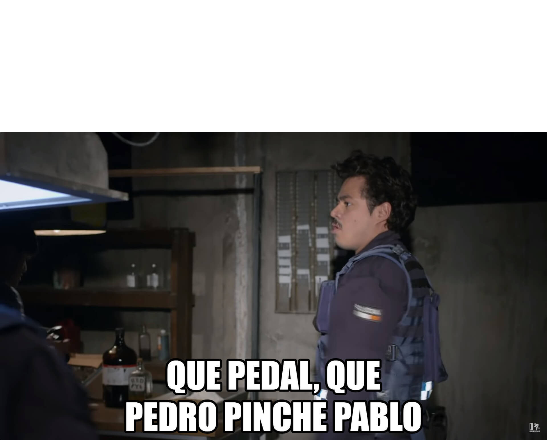 Ir a la pagina de la plantilla Que pedal, que Pedro pinche Pablo.
