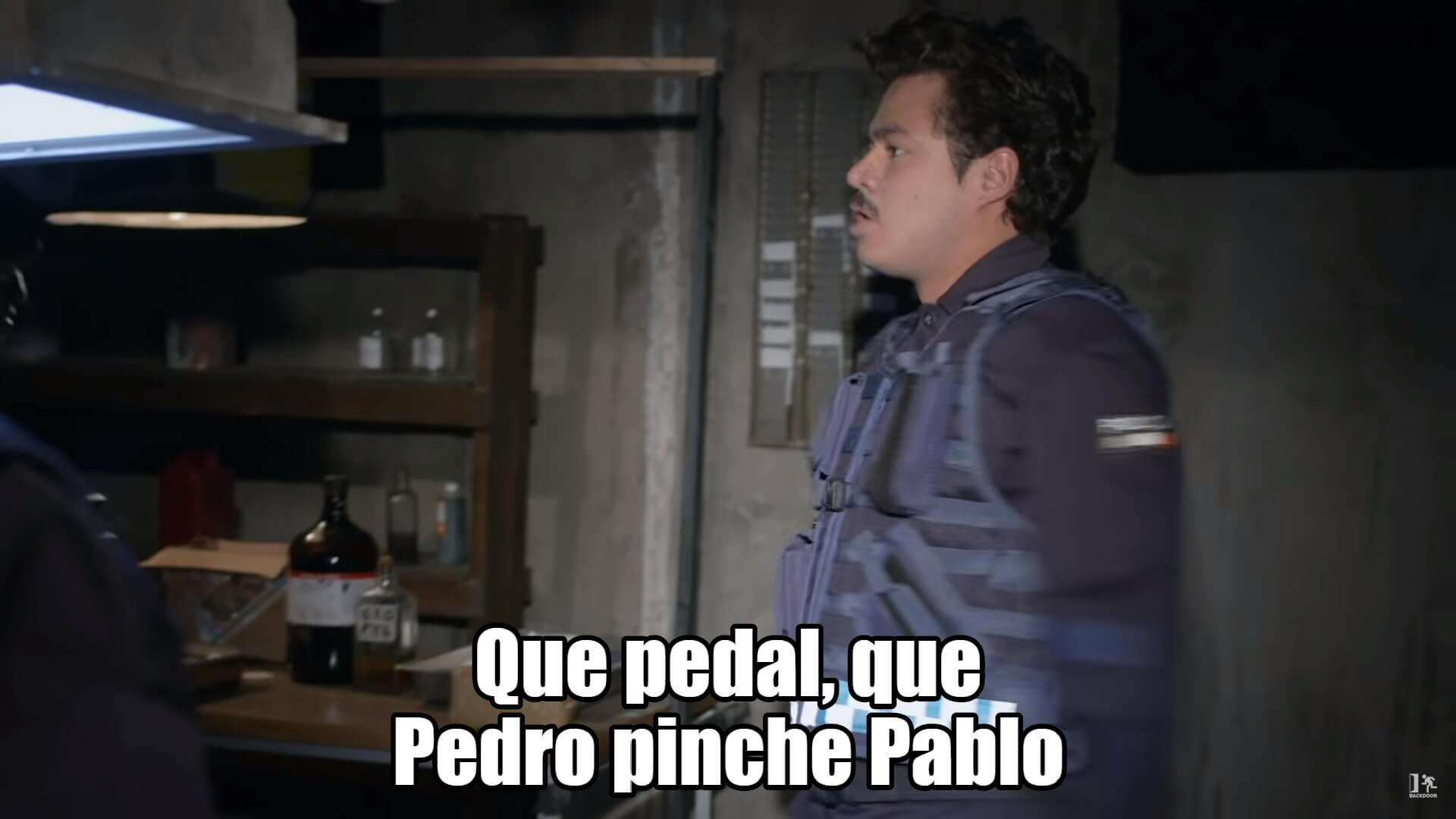 Plantilla de Que pedal, que Pedro pinche Pablo