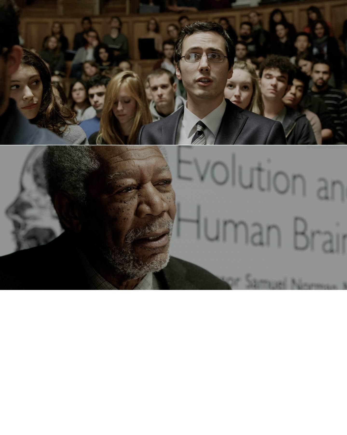 Plantilla de Señor, ¿Qué pasaría si alguien libera el 100% de su capacidad cerebral?